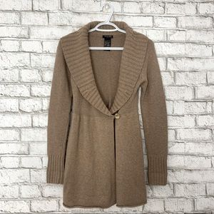 Talula Cashmere Wrap Cardigan/Sweater